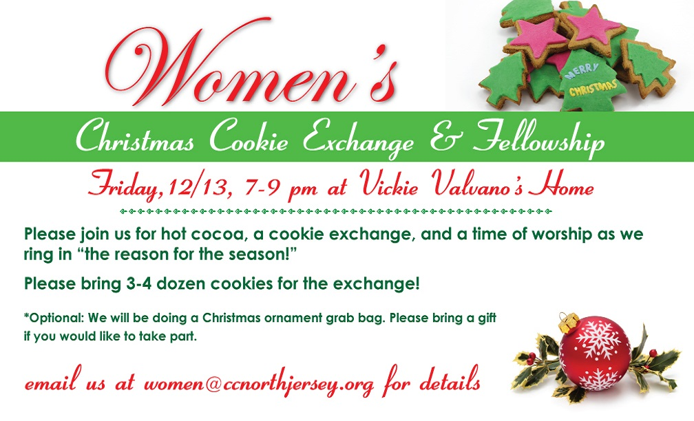 Women's Cookie Exchange